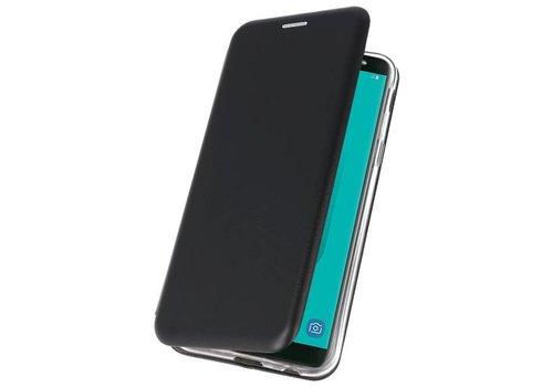 Slim Folio Case voor Galaxy J6 2018 Zwart