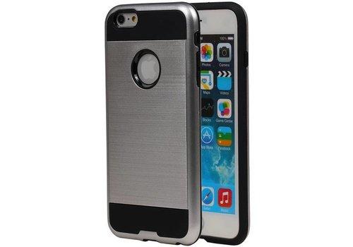 Tough Armor TPU Hoesje voor iPhone 6 Zilver