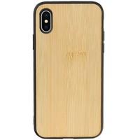 Bamboe Design Hardcase Hoesje voor iPhone X - XS Verticaal 2
