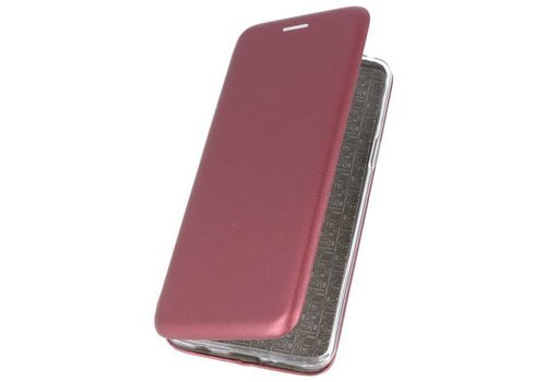 Slim Folio Case voor Samsung Galaxy J6 2018 Bordeaux Rood