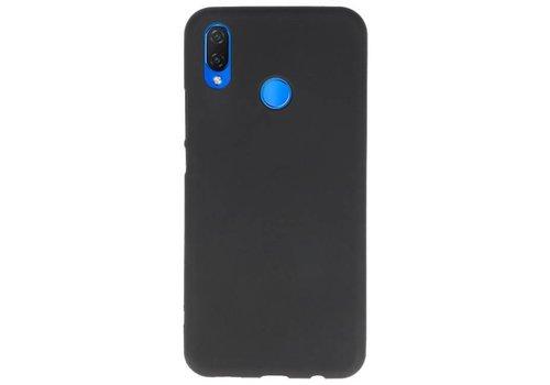 Color TPU Hoesje voor Huawei P Smart Plus Zwart