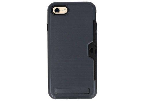 Tough Armor Kaarthouder Stand Hoesje voor iPhone 7/ 8  Zwart