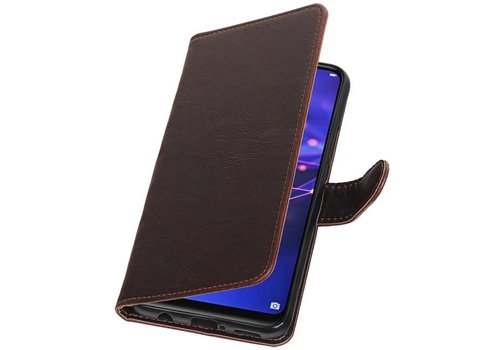 Pull Up Bookstyle voor Huawei Mate 20 Lite Mocca