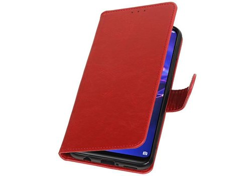 Pull Up Bookstyle voor Huawei Mate 20 Lite Rood