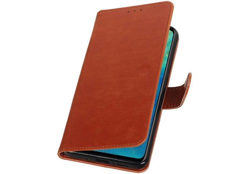 Pull Up Bookstyle voor Huawei Mate 20 Bruin