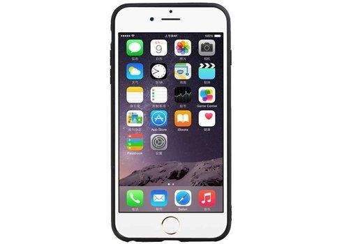 Hexagon Hard Case voor iPhone 6 Plus / 6s Plus Bruin
