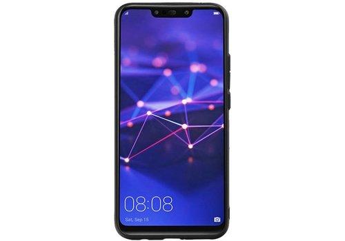 Hexagon Hard Case voor Huawei P20 Lite Grijs
