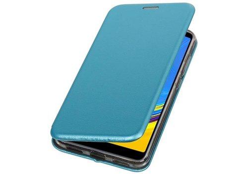 Slim Folio Case voor Samsung Galaxy A7 2018 Blauw