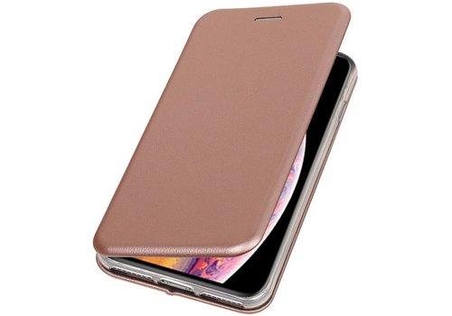 Slim Folio Case voor iPhone XS Max Roze