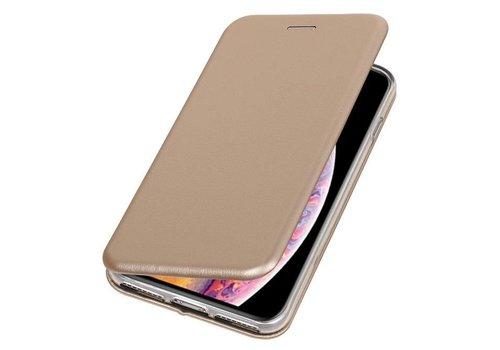 Slim Folio Case voor iPhone XS Max Goud