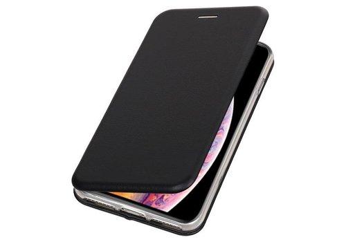 Slim Folio Case voor iPhone XS Max Zwart