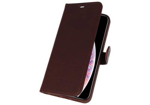 Rico Vitello Mocca Echt Leder Hoesje iPhone XS Max