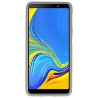 Color TPU Hoesje voor Samsung Galaxy A7 2018 Grijs