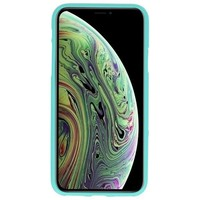 Color TPU Hoesje voor iPhone XS / X Turquoise