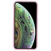Color TPU Hoesje voor iPhone XS / X Roze