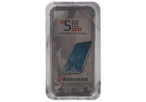 Schokbestendig TPU hoesje voor iPhone 8 / 7 Grijs met verpakking