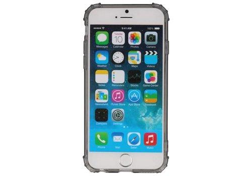 Schokbestendig TPU hoesje voor iPhone 6 Grijs met verpakking
