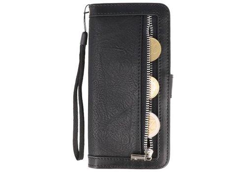 Luxe Portemonnee Telefoonhoesje voor Galaxy S9 Zwart
