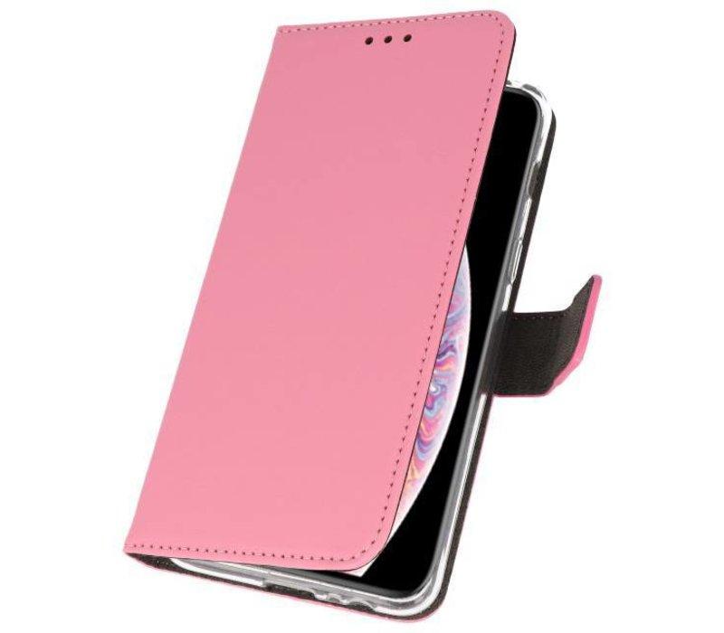 Wallet Cases Hoesje voor iPhone XS Max Roze