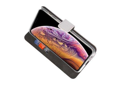 Wallet Cases Hoesje voor iPhone XS Max Wit