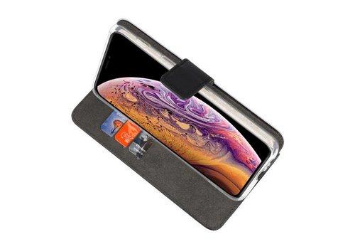 Wallet Cases Hoesje voor iPhone XS Max Zwart