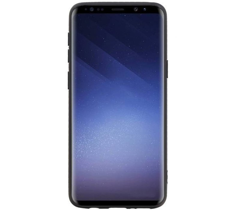 Back Cover 2 Pasjes voor Galaxy S9 Plus Bruin