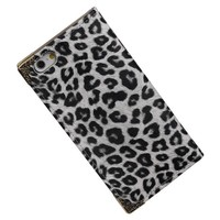 Chita TPU Map Booktype Hoes voor iPhone 6/6s Wit