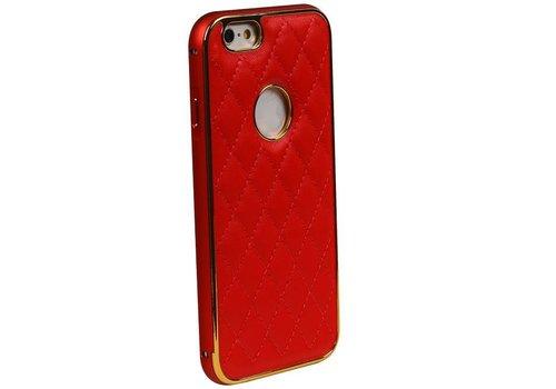 Aluminium + Back cover for iPhone 6 Plus Rood