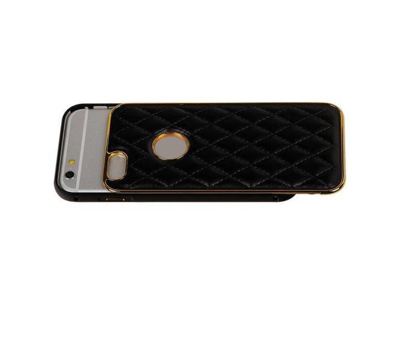 Aluminium + Back cover for iPhone 6 Plus Zwart