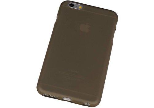 TPU Hoesje voor iPhone 6 Plus met verpakking Grijs
