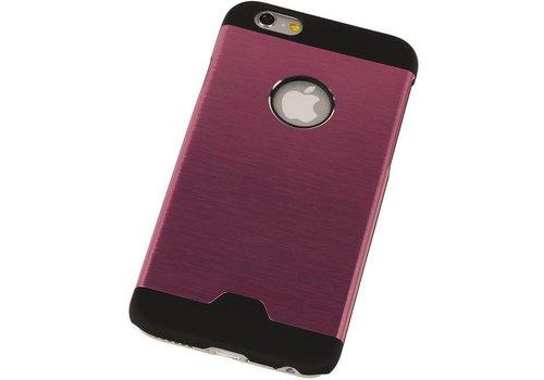 Lichte Aluminium Hardcase voor iPhone 6 Plus Roze