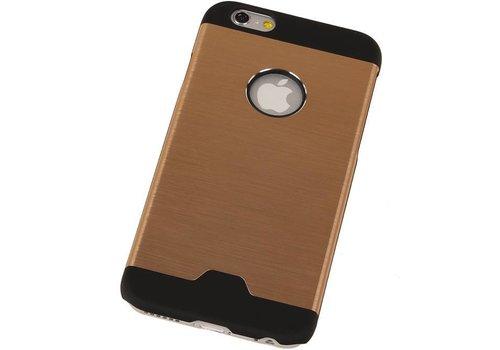 Lichte Aluminium Hardcase voor iPhone 6 Goud