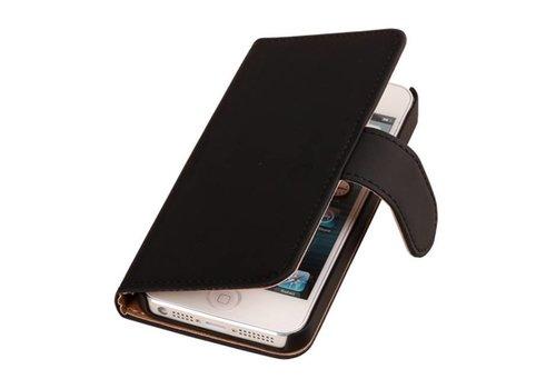 Bookstyle Hoes voor iPhone 6 Plus Zwart