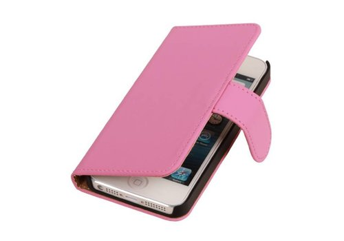 Bookstyle Hoes voor iPhone 6 Plus Roze