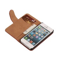 Bark Bookstyle Hoes voor iPhone 6 Plus Rood