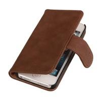 Bark Bookstyle Hoes voor iPhone 6 Plus Bruin