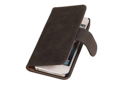 Bark Bookstyle Hoes voor iPhone 6 Grijs