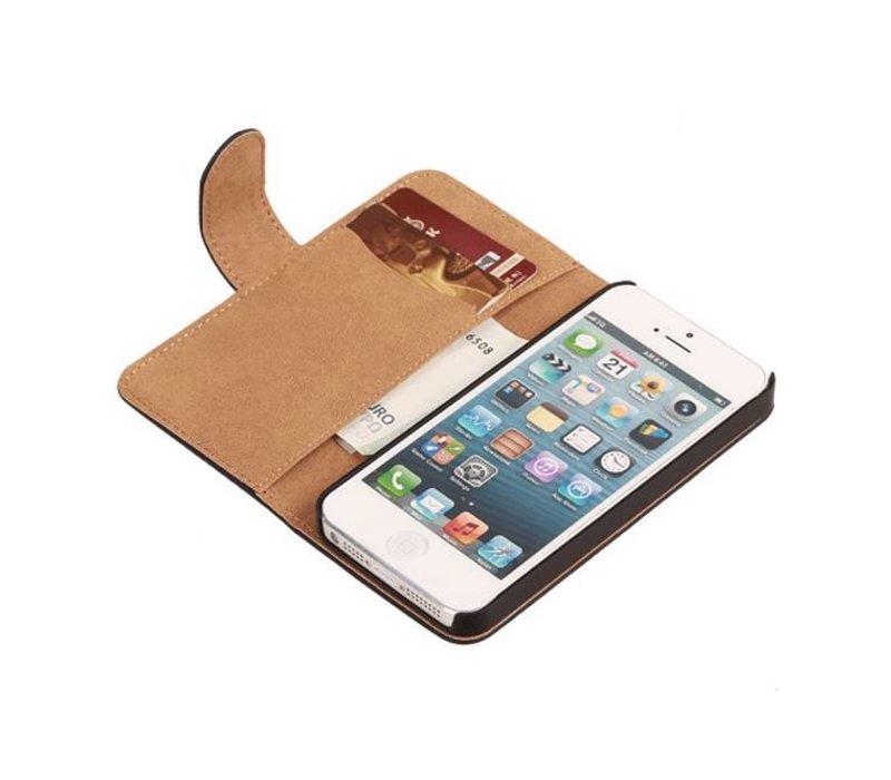 Bookstyle Hoes voor iPhone 6 Zwart