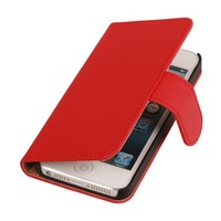Bookstyle Hoes voor iPhone 6 Rood