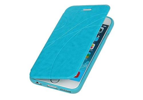 Easy Booktype hoesje voor iPhone 6 Turquoise