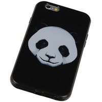 3D TPU Back Cover for iPhone 6 Plus Panda