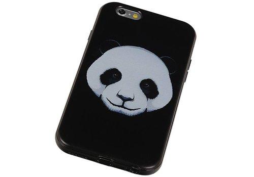 3D TPU Back Cover for iPhone 6 Plus Panda