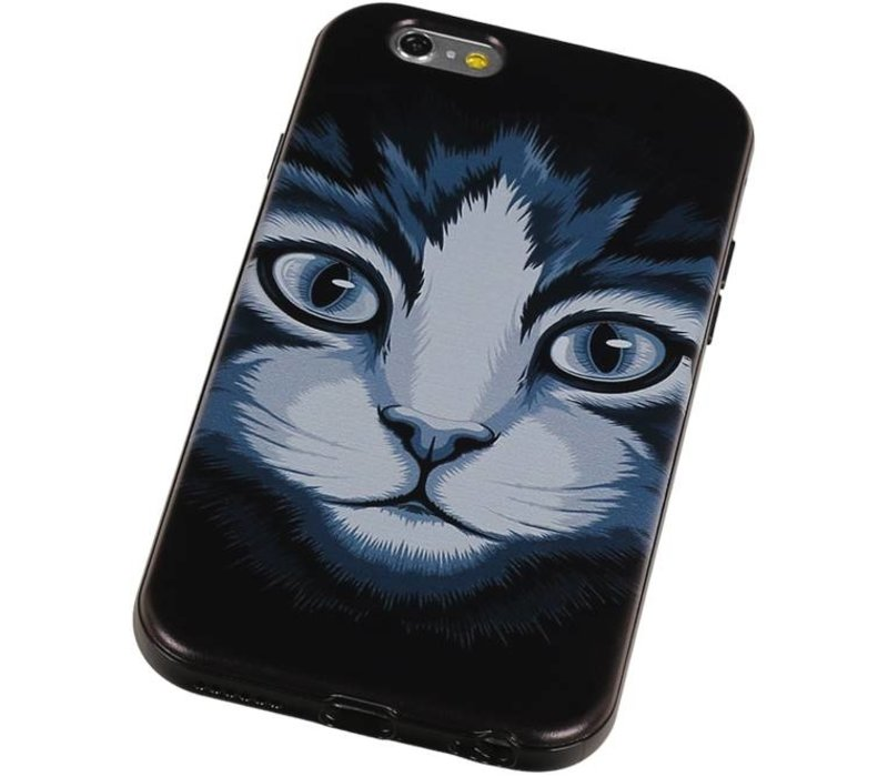 3D TPU Back Cover for iPhone 6 Plus Kat