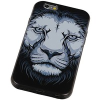3D TPU Back Cover for iPhone 6 Leeuw