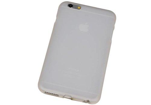 TPU Hoesje voor iPhone 6 Plus met verpakking Wit