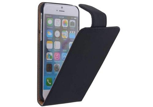 Classic Flip Hoes voor iPhone 6 Zwart