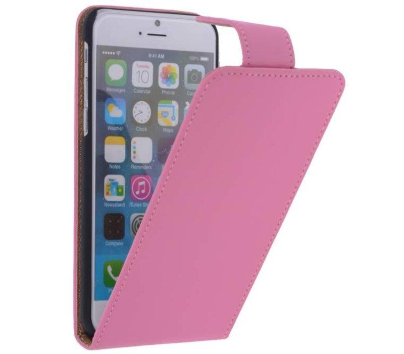 Classic Flip Hoes voor iPhone 6 Roze