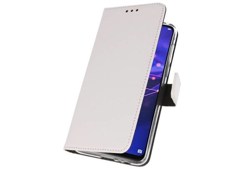 Wallet Cases Hoesje voor Huawei Mate 20 Wit