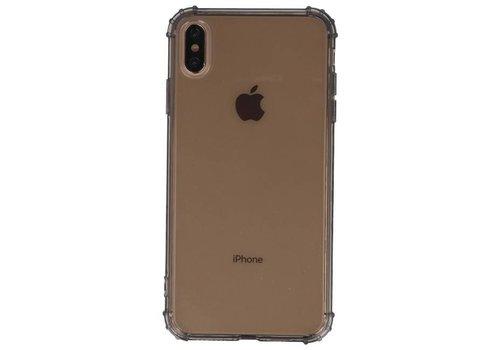 Schokbestendig TPU hoesje voor iPhone XS Max Grijs met verpakking