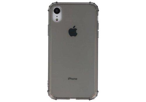 Schokbestendig TPU hoesje voor iPhone XR Grijs met verpakking